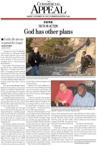 Commercial Appeal.God has other plans.11.18.12