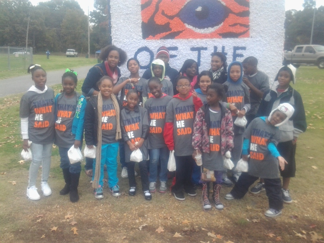 MAM kids march in University of Memphis Homecoming Parade