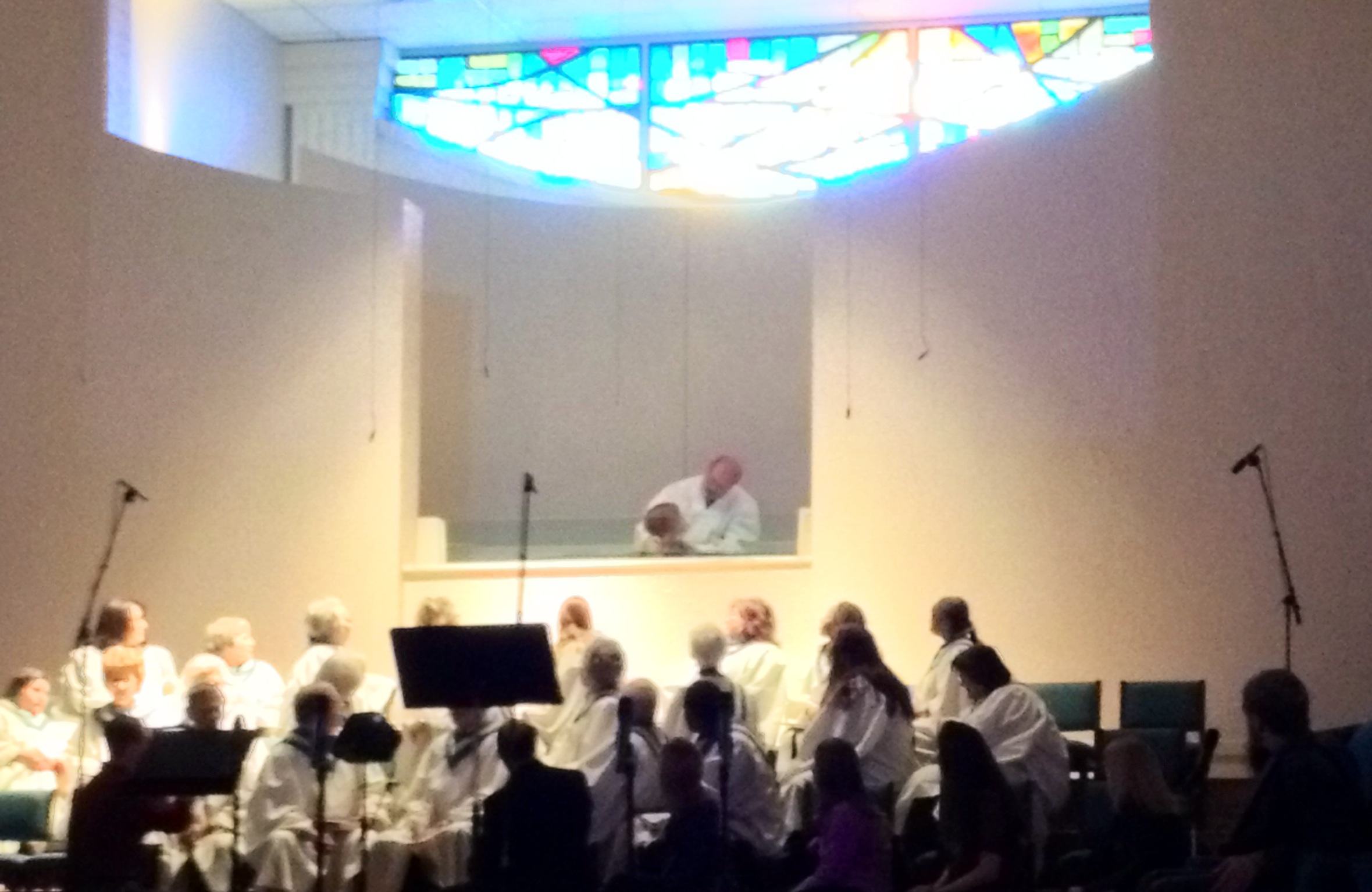 We rejoice when our youth are baptized!