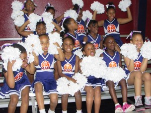 Our MAM St. Andrew cheerleaders love being silly.  These young ladies are thankful for the supporters who made their new uniforms and pom poms possible.