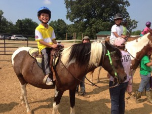 MAMkids on horses