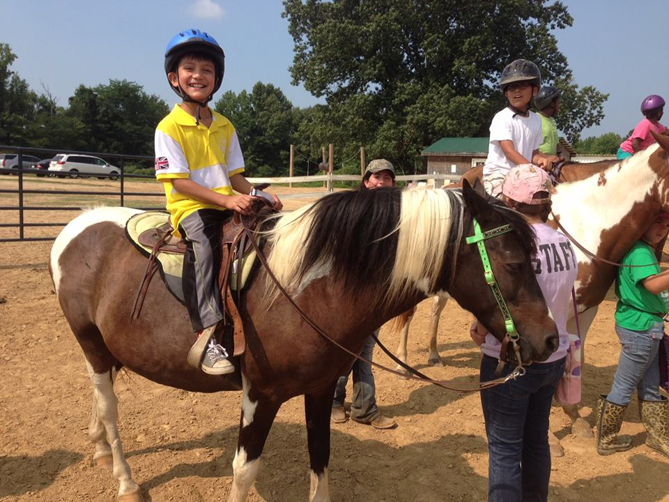 Taking the reins: At-risk kids saddle up