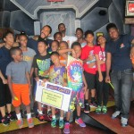 Summer time is fun at Laser Quest with MAM coaches.