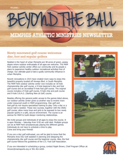 Beyond the Ball, Vol. 1, Issue 2