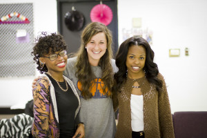 Lynette, her mentor Kasey and her sister