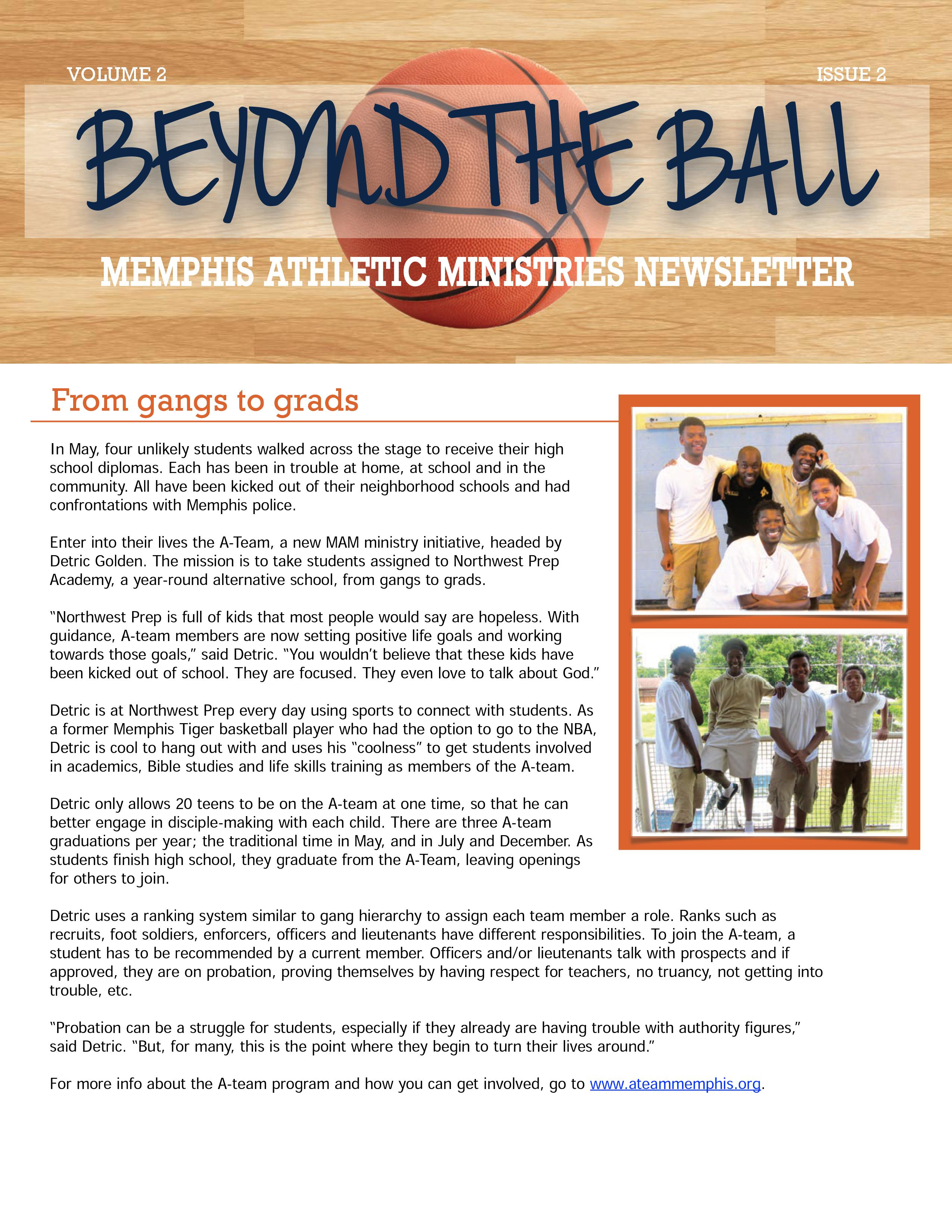 Beyond the Ball, Vol. 2, Issue 2