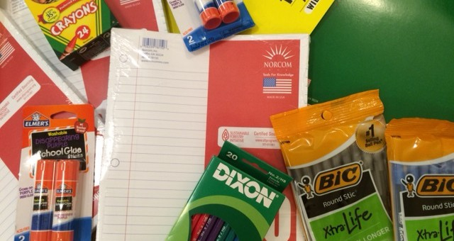 Success begins with school supplies