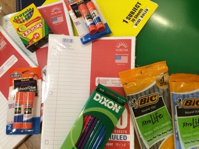 Success begins with school supplies