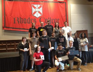 Eleven students completed the Rhodes College Hack-a-Thon Sept. 23-24, providing technology applications for Memphis-area nonprofits Teach 901 and Memphis Athletic Ministries.