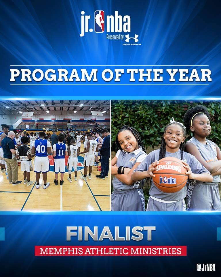 MAM is Named a Finalist for the Jr NBA Program of the Year