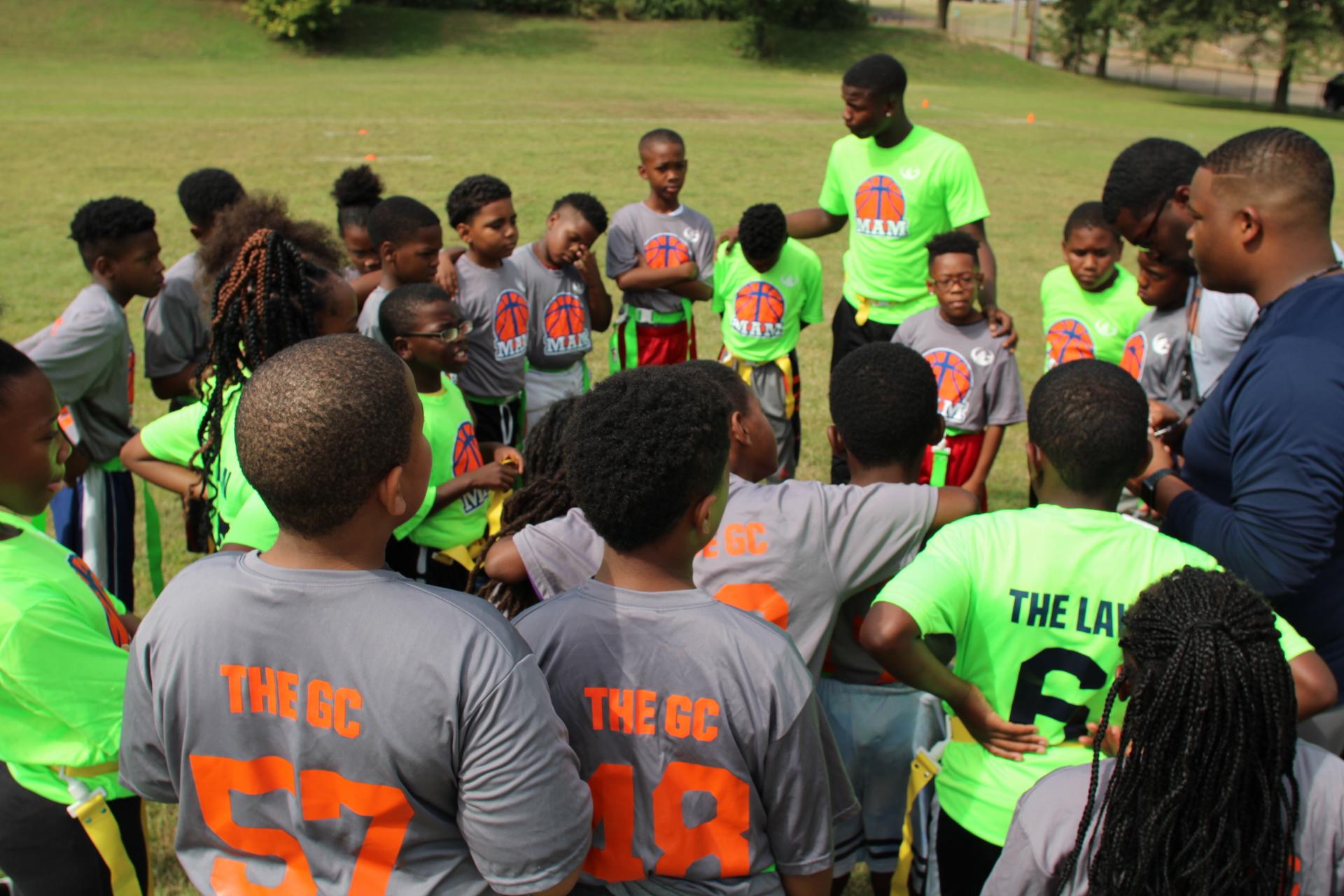 MAM dedicates flag football season in memory of Brandon Archer, MAM youth coordinator