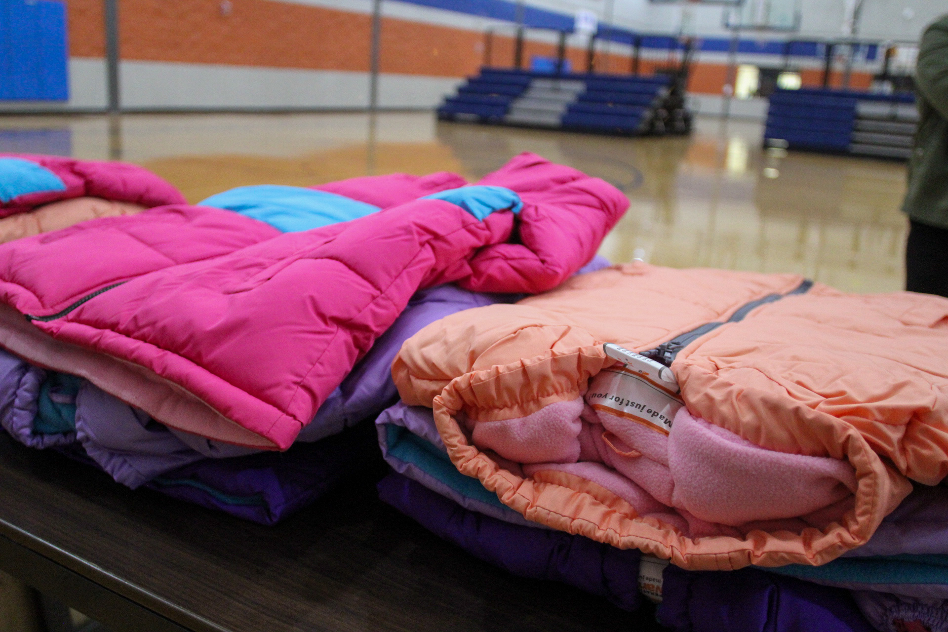 More than 300 youth at MAM received brand new coats